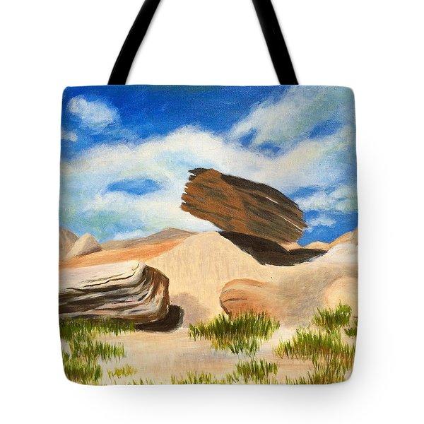 Toadstool Park Nebraska Tote Bag