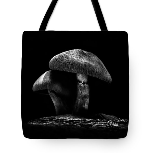 Toadstools On A Toronto Trail No 6 Tote Bag by Brian Carson