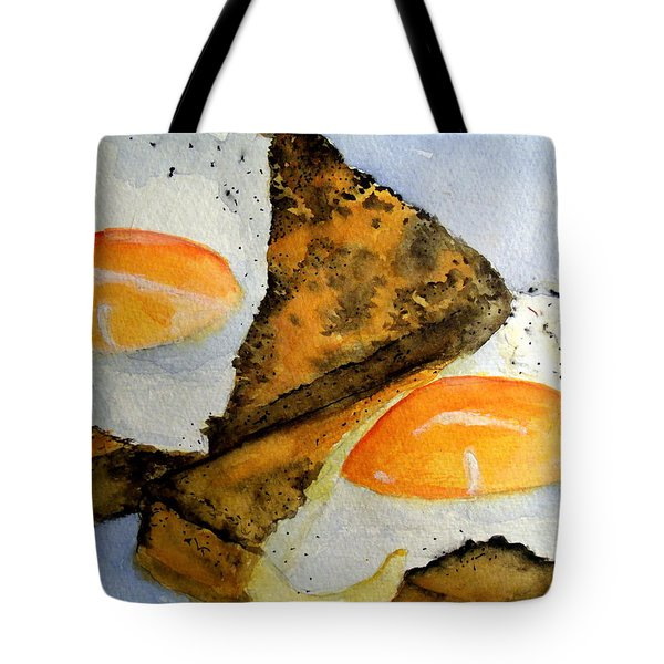 Toast And Eggs Tote Bag
