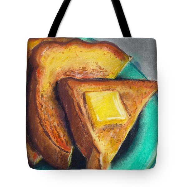 Toast Of The Town Tote Bag