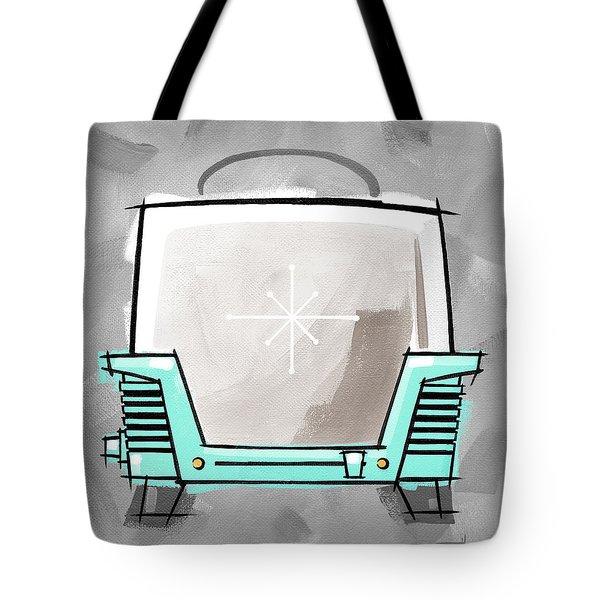 Toaster Aqua Tote Bag