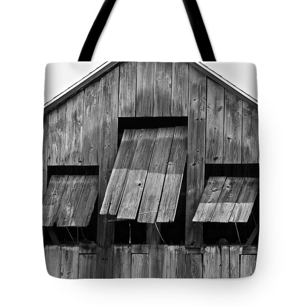 Tobacco Barn Tote Bag by Jim Gillen
