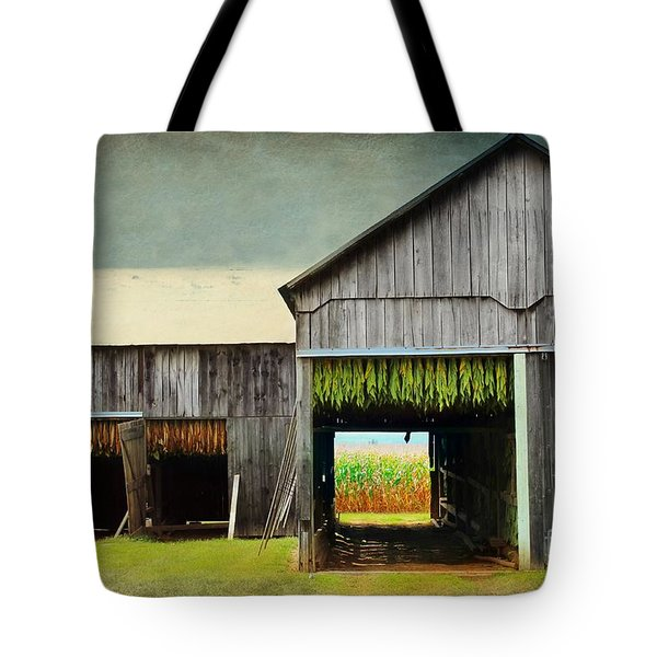 Tobacco Drying Tote Bag