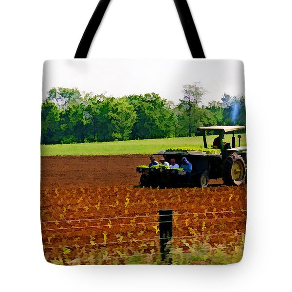 Tobacco Planting Tote Bag