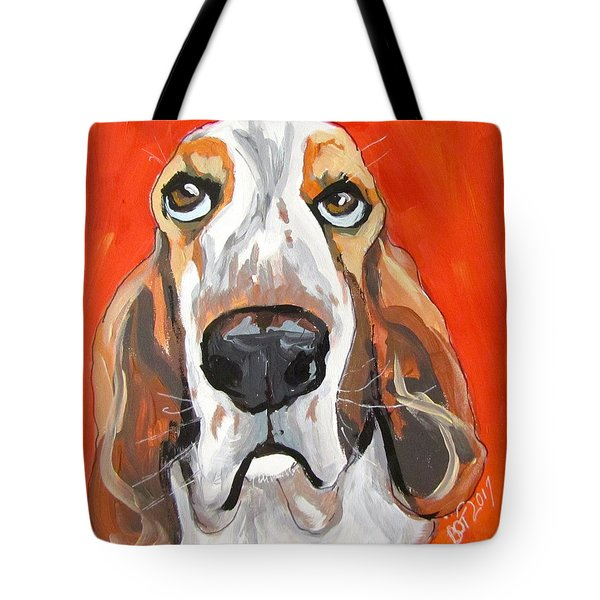 Toby Tote Bag by Barbara O'Toole
