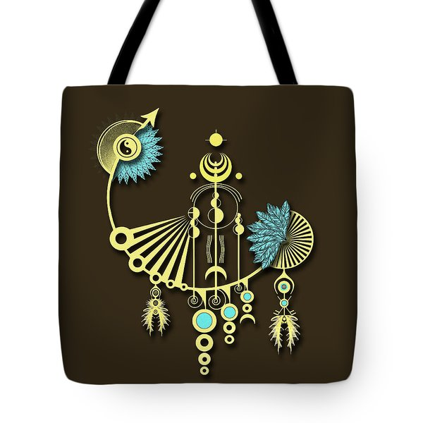 Tock Tote Bag by Deborah Smith