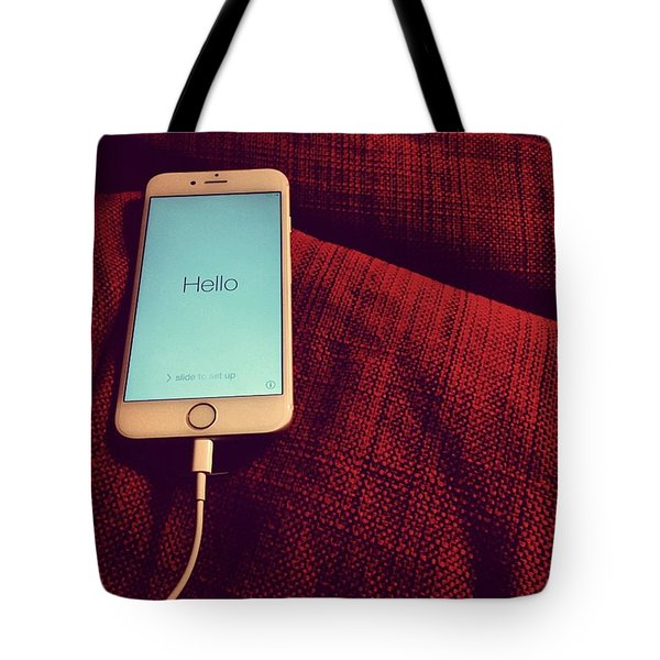 Today Is New #iphone Day! I Can Take Tote Bag