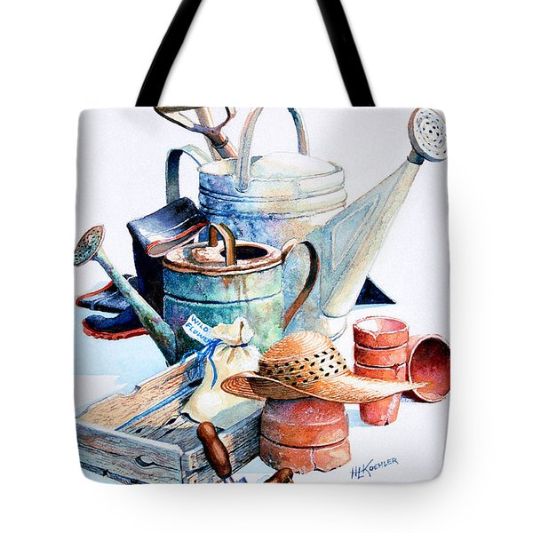 Todays Toil Tomorrows Pleasure II Tote Bag