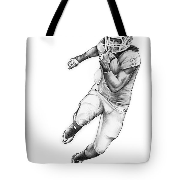 Todd Gurley Tote Bag by Greg Joens