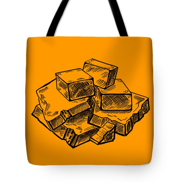 Toffee Fudge And Caramel  Tote Bag