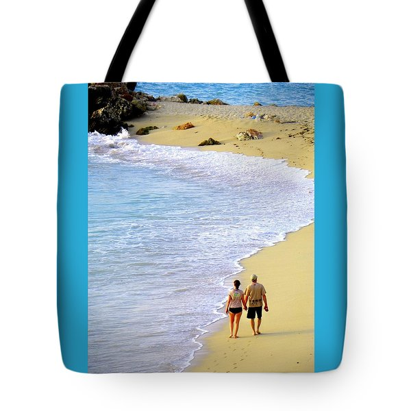 Together Alone Tote Bag by Karen Wiles