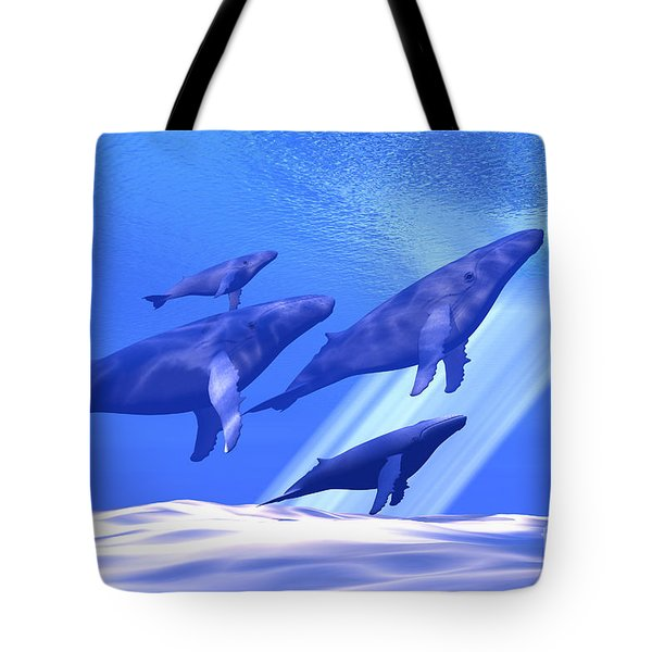 Together Tote Bag by Corey Ford