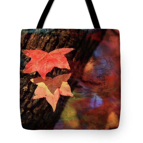 Tote Bag featuring the photograph Together II by Toni Hopper