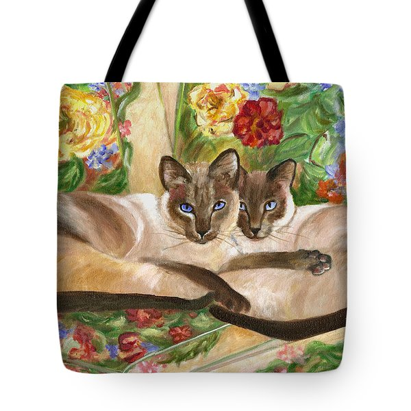 Together Tote Bag by Mary Jo Zorad