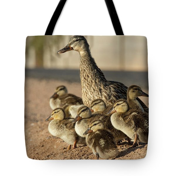 Together Time Tote Bag by Sue Cullumber