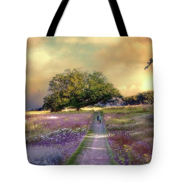 Together We Can Weather The Storms Tote Bag by John Rivera