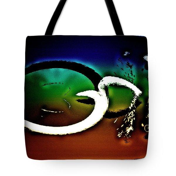 Tote Bag featuring the digital art Togetherness by Gerlinde Keating - Galleria GK Keating Associates Inc