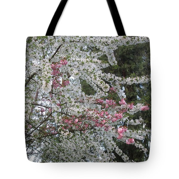 Tote Bag featuring the photograph Togetherness by Marie Neder