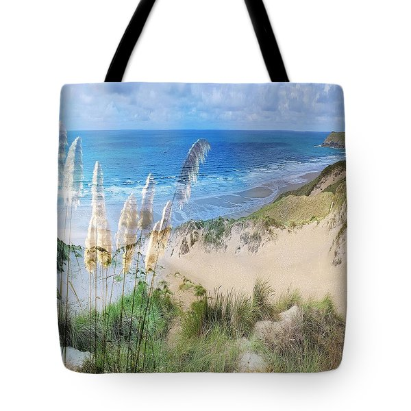 Toi Tois In Coastal  Sandhills Tote Bag
