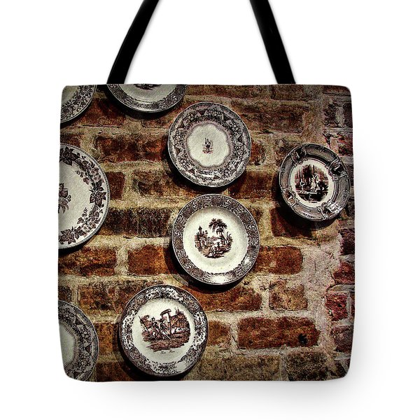 Tiole Plates Tote Bag