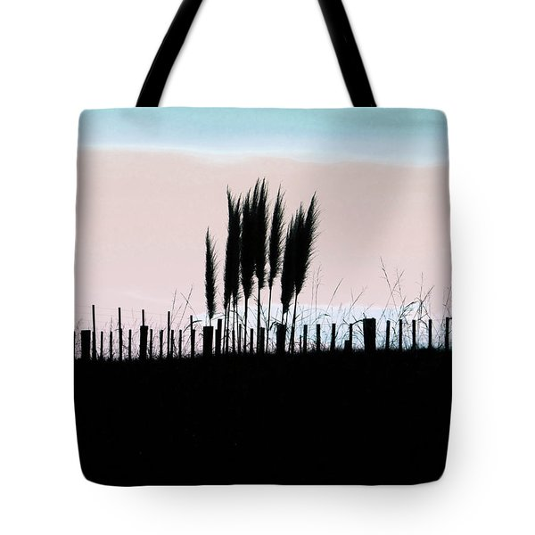 Toitoi Sunset Tote Bag by Karen Lewis