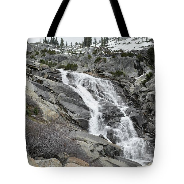 Tote Bag featuring the photograph Tokopah Falls by Kyle Hanson