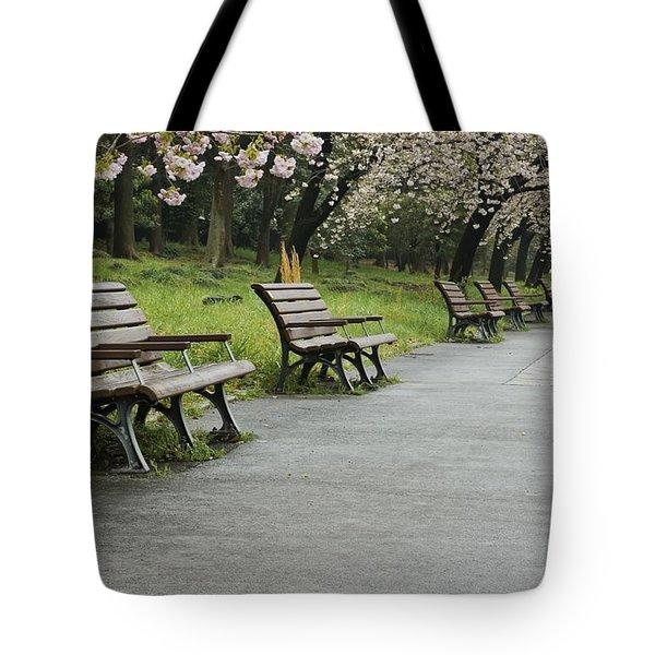 Tokyo Cherry Blossoms  Tote Bag