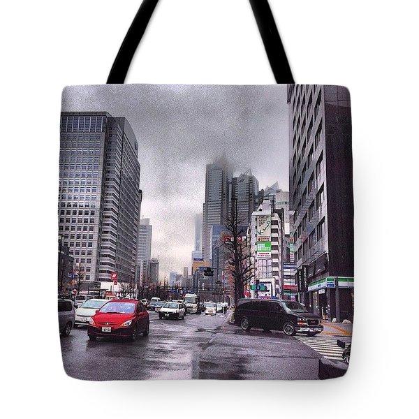 Tokyo Cloudy Tote Bag