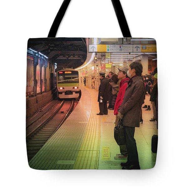 Tokyo Metro, Japan Tote Bag