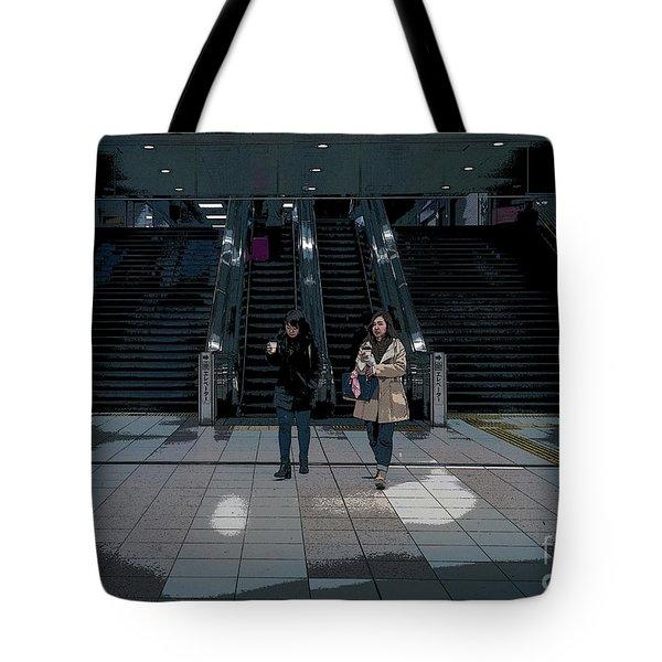 Tokyo Metro, Japan Poster Tote Bag