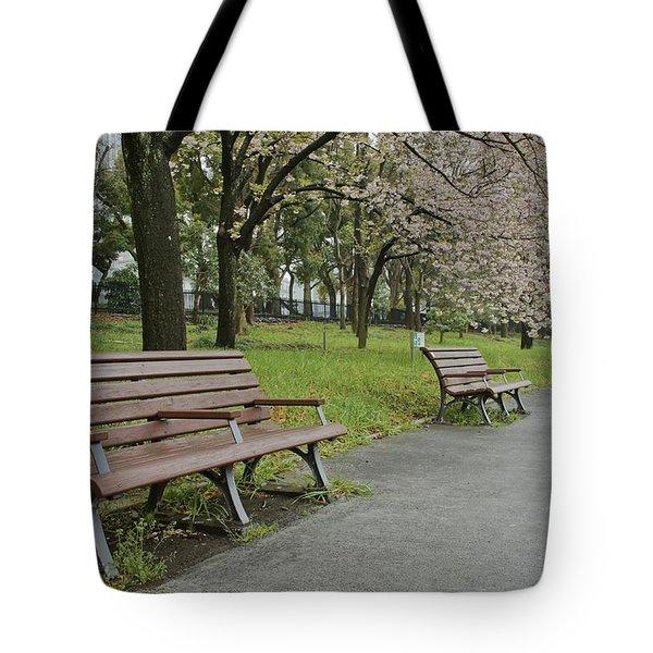 Tokyo Spring Tote Bag