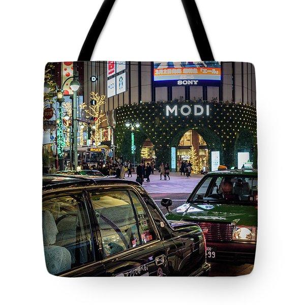 Tokyo Taxis, Japan Tote Bag