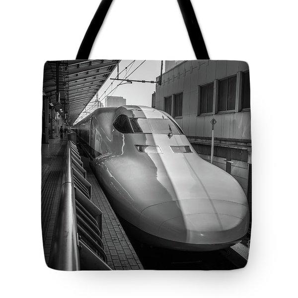 Tokyo To Kyoto Bullet Train, Japan 3 Tote Bag