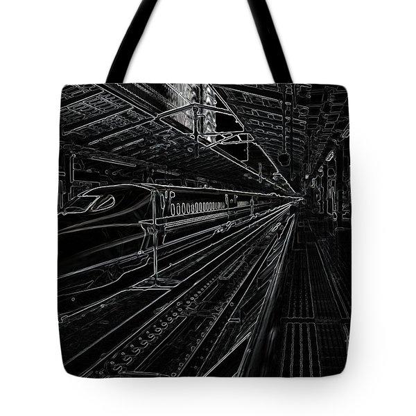 Tokyo To Kyoto, Bullet Train, Japan Negative Tote Bag