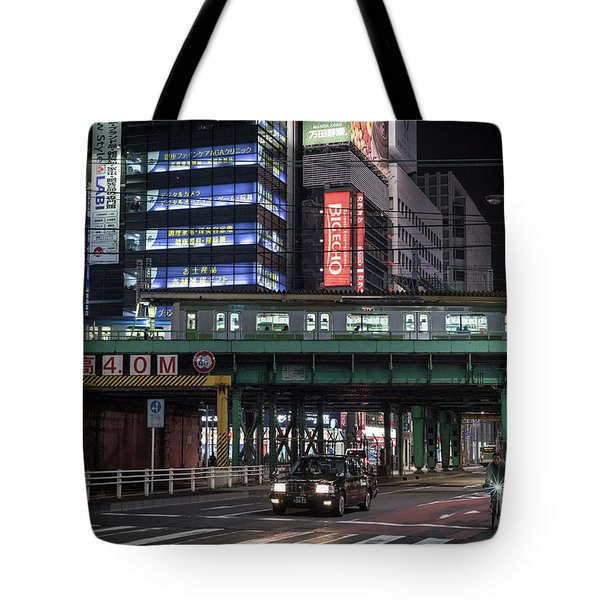 Tokyo Transportation, Japan Tote Bag