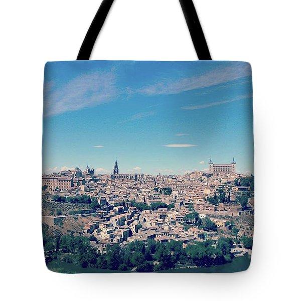 Toledo, Beautiful Medieval City Tote Bag by Eva Dobrikova