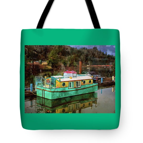 Tote Bag featuring the photograph Toledo Showboat by Thom Zehrfeld