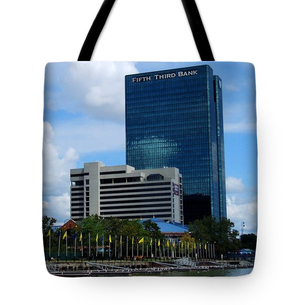 Toledo's Waterfront I Tote Bag