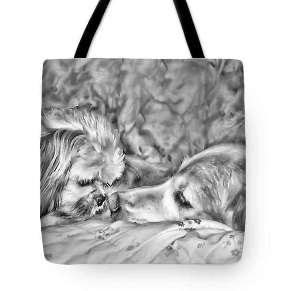 Tolerance Tote Bag by Rhonda McDougall
