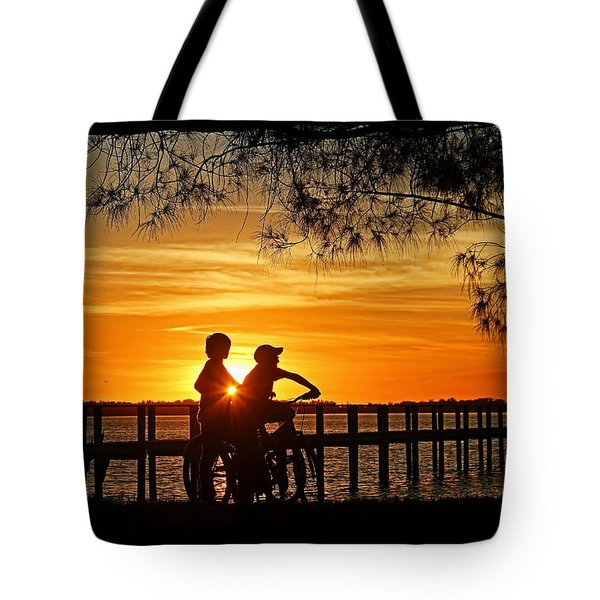 Tom And Huck Tote Bag by HH Photography of Florida