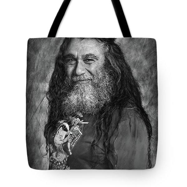 Tom Araya 2 Tote Bag