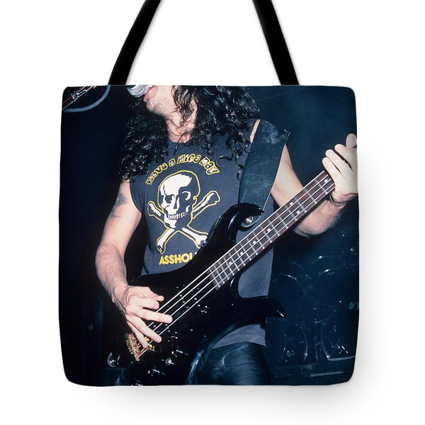 Tom Araya Of Slayer Tote Bag