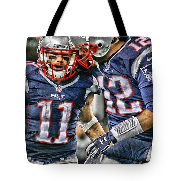 Tom Brady Art 1 Tote Bag