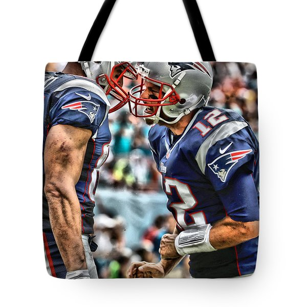 Tom Brady Art 4 Tote Bag