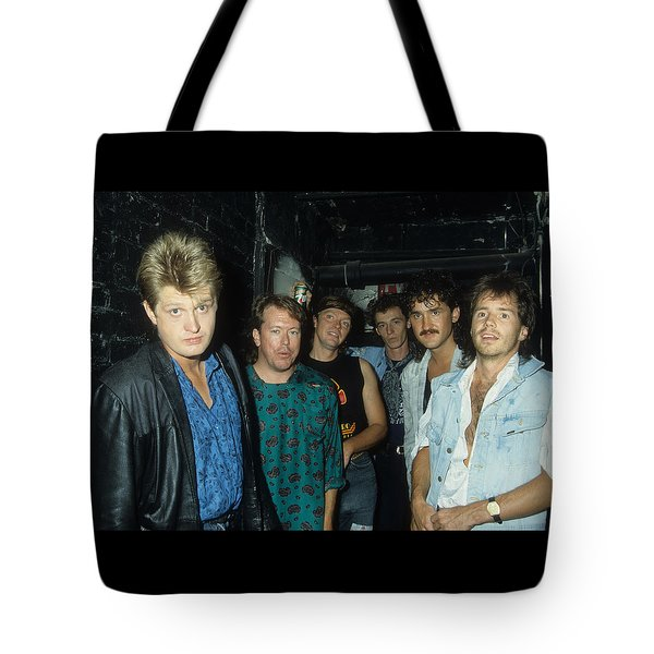 Tom Cochrane And Red Rider Tote Bag
