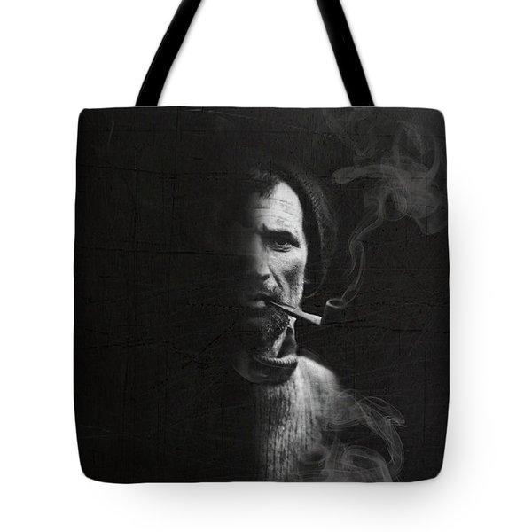 Tom Crean Antarctic Explorer - Dated Portrait Tote Bag