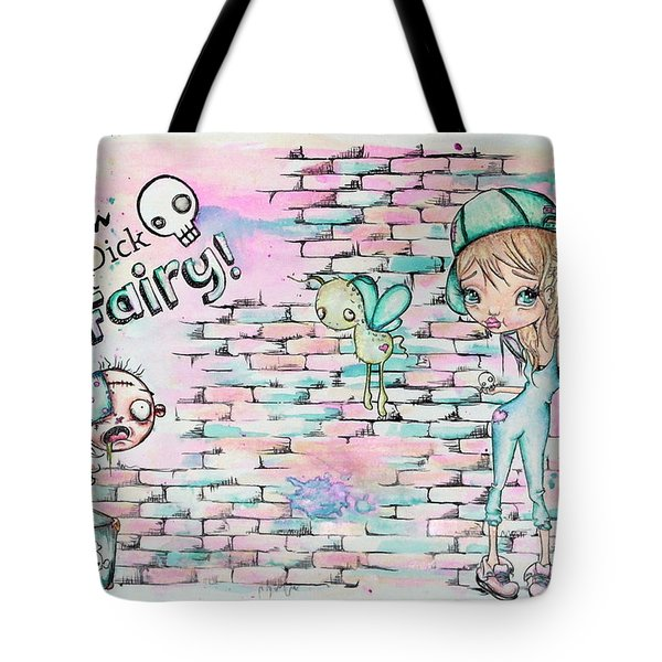 Tom Dick And Fairy Tote Bag by Lizzy Love