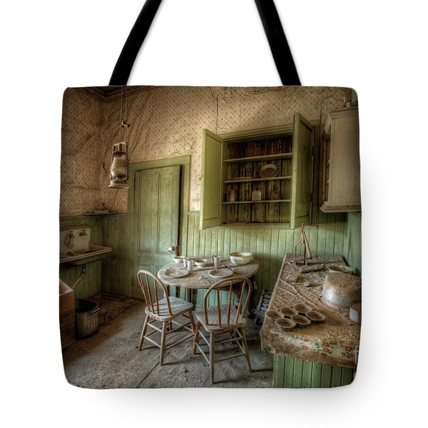 Tom Miller House - Bodie Ghost Town Tote Bag