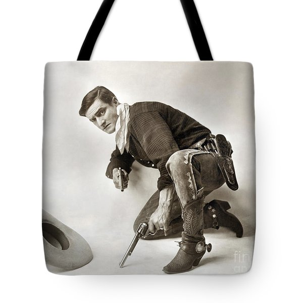 Tom Mix (1880-1944) Tote Bag by Granger
