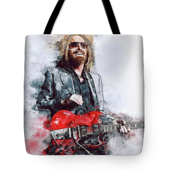 Tom Petty - 21 Tote Bag